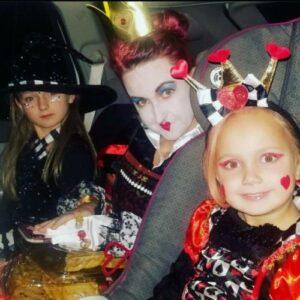 Johnna Spikes in Halloween costume