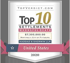 Top 10 Settlements - wrong full death